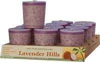 Lavender Hills Scented Votive Candle