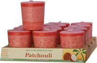 Patchouli Scented Votive Candle