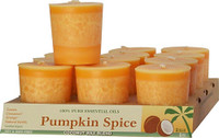 Pumpkin Spice Scented Votive Candle