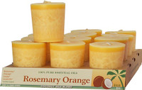 Rosemary Orange Scented Votive Candle