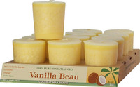 Vanilla Bean Scented Votive Candle