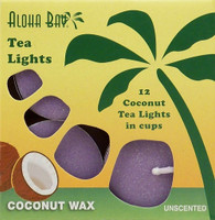 Coconut Tea Lights - Violet