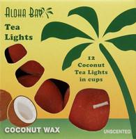 Coconut Tea Lights- Red