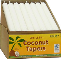 Coconut Tapers - White