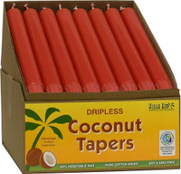 Coconut Tapers - Red