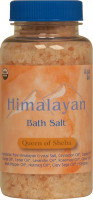 Organic Himalayan Bath Salt - Queen of Sheba