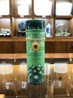 Abundance - Emerald Gold Lotus Inspiration Candle