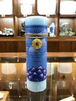Healing - Blue Topaz Gold Lotus Inspiration Candle