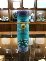 Joy - Aquamarine Gold Lotus Inspiration Candle