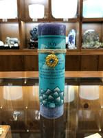 Joy - Aquamarine Gold Lotus Inspiration Candle