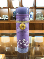 Spirituality - Light Amethyst Gold Lotus Inspiration Candle
