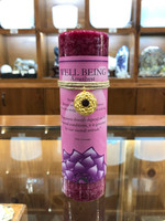 Well Being - Amethyst Gold Lotus Inspiration Candle