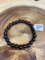 Smoky Quartz 8MM Bead Bracelet