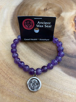 Ancient Wax Seal - Amethyst - Good Health