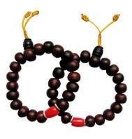 Bodhi Coral Wrist Mala 13-14 mm