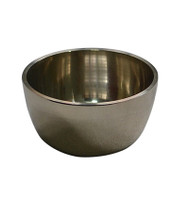 Vertical Design Plain Singing Bowl 8 cm