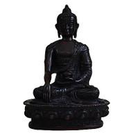 Black Color Buddha