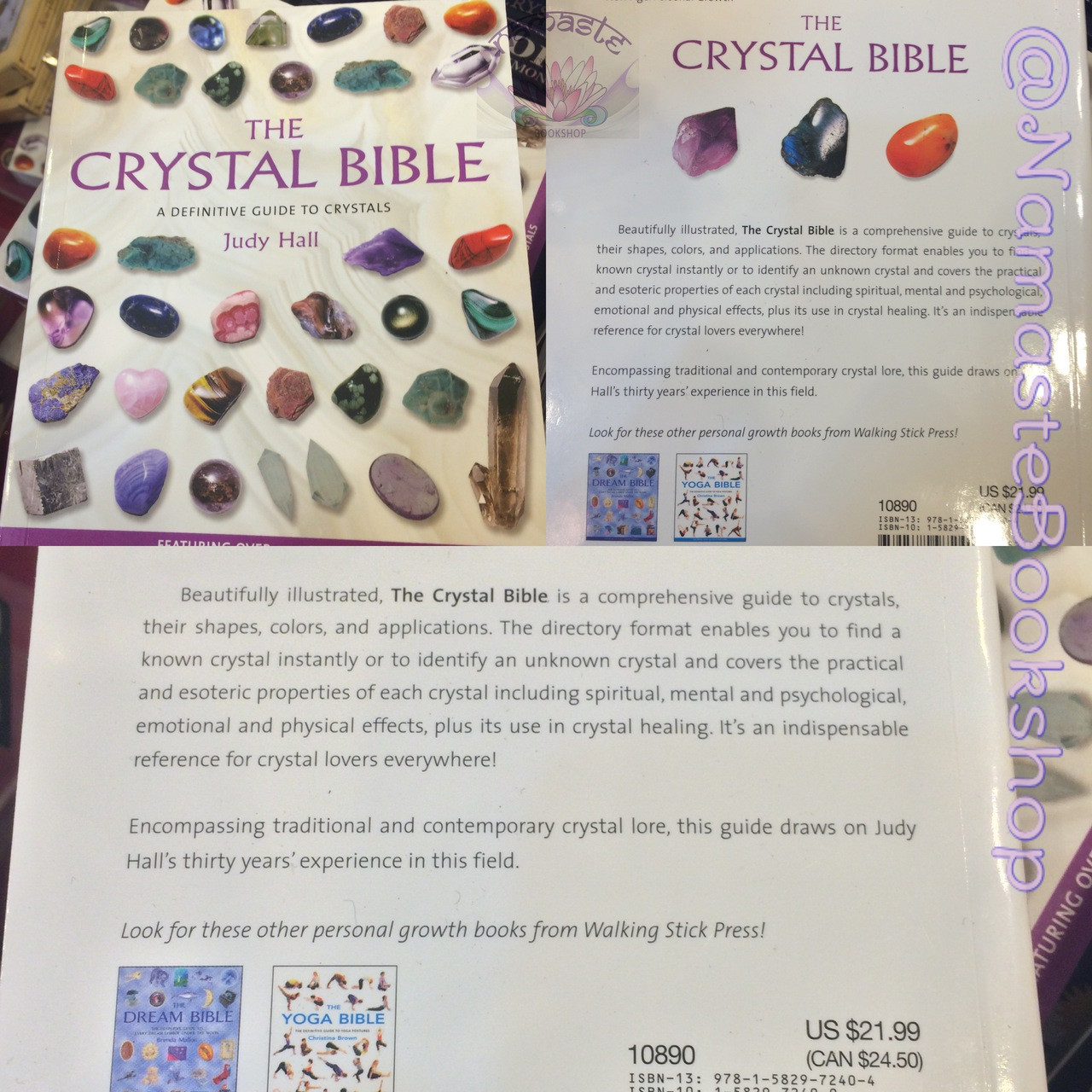 The Crystal Bible - Namaste Bookshop