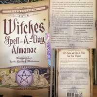 Llewellyn's 2016 Witches' Spell - A - Day Almanac