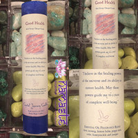 Reiki Energy Charged Candle - Good Health