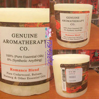 Romance Blend Essential Oil Candle