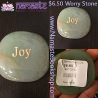 Aventurine Joy Worry Stone