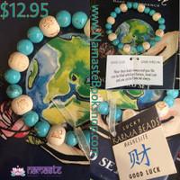 Lucky Karma Beads Wrist Mala