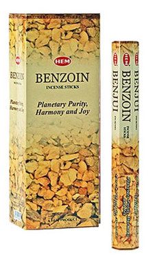 Hem Benzoin Incense