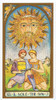 Renaissance Tarot Deck by Brian Williams Sole the Sun