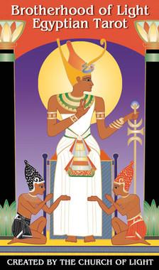 Brotherhood of Light Egyptian Tarot by Vicki Brewer