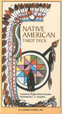 Native American Tarot Deck by Magda Weck Gonzalez and J. A. Gonzalez
