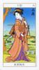Ukiyoe Tarot by Stuart R. Kaplan Justice