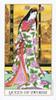 Ukiyoe Tarot by Stuart R. Kaplan Queen of Swords