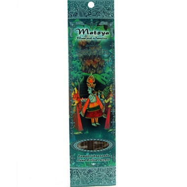 Matsya - Jasmine, Rose, and Tulasi incense
