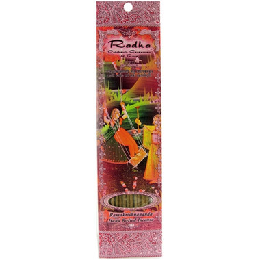 Radha - Patchouli, Cardamon, and Rose incense