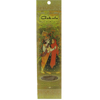 Gokula - Myrrh, Vanilla, and Tulsi incense