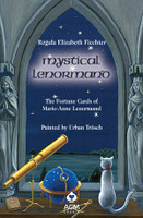 Mystical Lenormand Book by Regula Elizabeth Fiechter