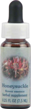 Flower Essence Healing Herb® Honeysuckle Supplement Dropper -- 0.25 fl oz