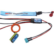 Jeti Electronic Switch Dual Redundant w/ Magnetic Key DSM 10