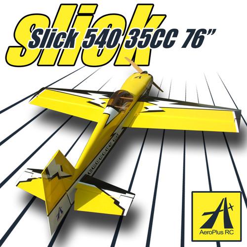 Aeroplus 76 Quot Slick 540 35cc Yellow 1box Pro Rc Canada
