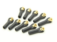 2M x19 mm Hexagonal Ball Links with Washer