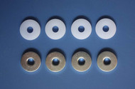 4mm PTFE POM & ALU WASHERS (for40-170E MOTORS)