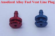 Anodized Alloy  Fuel Vent Line