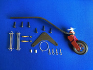 CNC Alloy & CF Tail Wheel Assembly  V3  (150-220cc)