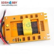 GT Power Mini Servo Section Board Power Box for Gas Plane with 20A UBEC-Yellow