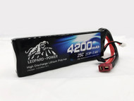 Leopard Power  4200 Mah 2S  25c LiPo Battery