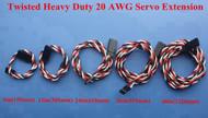 KUZA  20 AWG 100 strand Servo Extensions