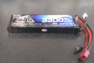 Leopard Power 3300 mAh 25C 2S 7.4v Lipo Battery