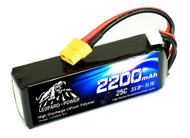 Product model: LP2200/25-3S  Product introduction: LiPo battery, a type of rechargeable battery that has taken the electric RC world by storm,especially for planes and helicopters. RC LiPo batteries have three main things going for them that make them the perfect battery choice for RC planes even more so for RC helicopters over conventional rechargeable battery types such as NiCad or NiMH.