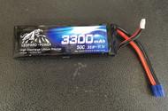 Leopard Power  3300 Mah 3S  50c LiPo Battery